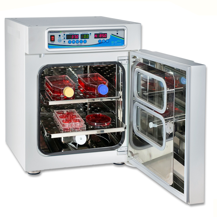 benchmark st-45 and st-180 series co2 incubators