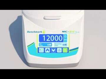 MC-24™ Touch High Speed Microcentrifuge
